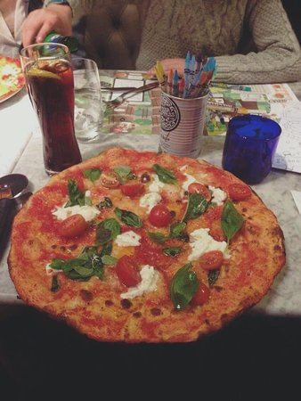 Pizza Tomate Burrata Picture Of Pizza Express Ludlow