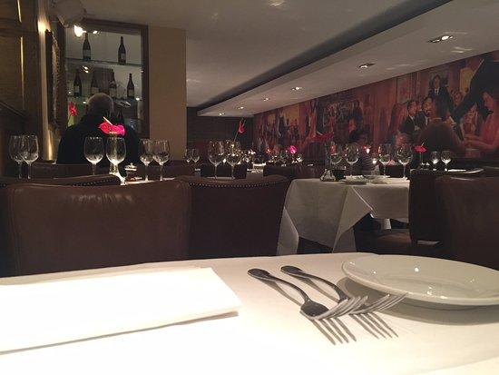 Peploe's: Dinning room