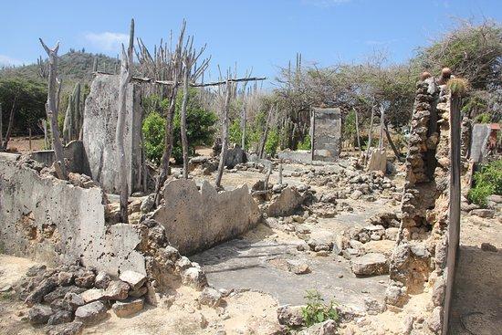 Washington-Slagbaai National Park, Μπονέρ: Historic remains of a limestone cement/concrete building