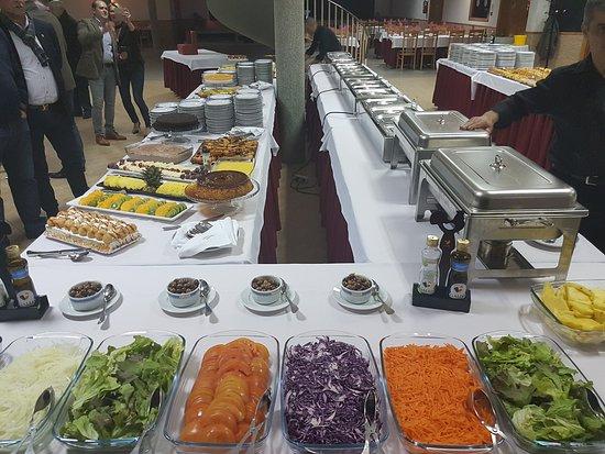 Santa Comba Dao, Portugal: Buffet