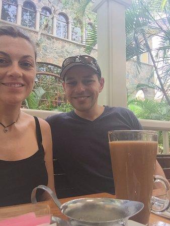 Ocean Grill : latte