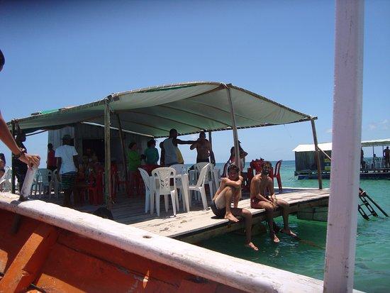 Praia de Garapuá: Piscinas Naturais