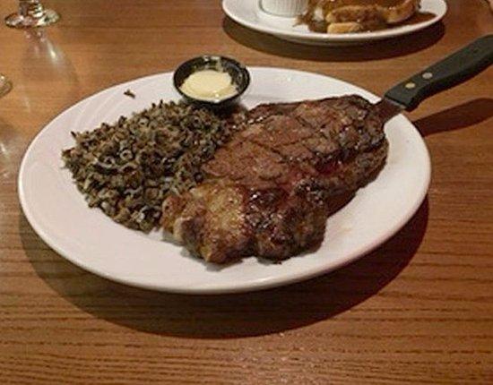 Warroad, Minnesota: rib eye steak 