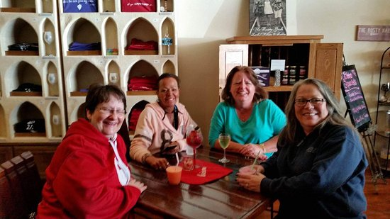 Rusty Nail Winery : Great atmosphere