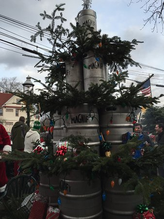 Caldwell, NJ: Firkin Christmas tree haha