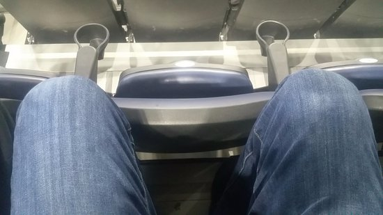 Scotiabank Centre : Absolutely no leg room.