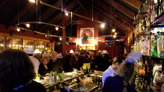 Soquel, CA: The bar at Michael's On Main