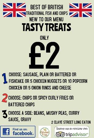 Attenborough, UK: new Tasty Treats 2017