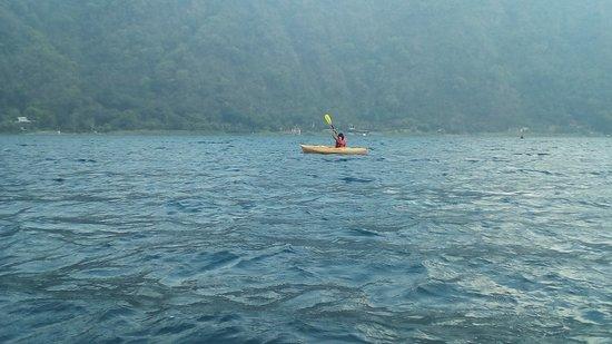 San Lucas Toliman, Guatemala: Pude usar los kayaks sin costo alguno