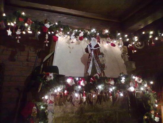 Wiesensteig, Germany: Interno dell'hotel durante il perdo natalizio