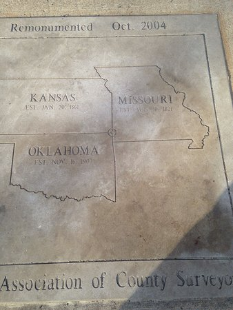 Stand on Three States: Kansas, Missouri, Oklahoma