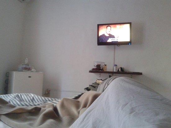 Hotel Posta del Lago: Amplo com bela vista. Porem, com roupa de cama e banho abaixo da critica. Uma pena. Belo local
