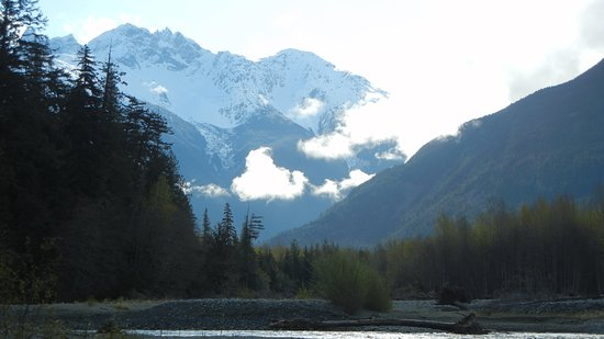 View from the Bella Coola River
