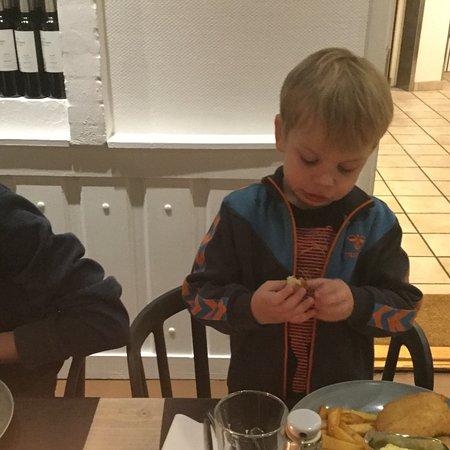 Assens, Denemarken: Dejlig børne menu