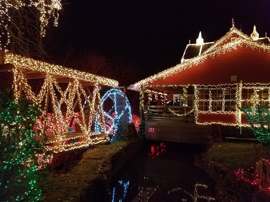 Ludlow Falls Christmas Lights Ohio Decoratingspecial Com