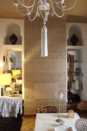 Riad les Orangers d'Alilia Marrakech: The lounge