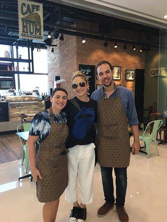 Inauguração do Café Hum Barra Shopping Rio de Janeiro. Agradecemos a presença da linda Claudia L