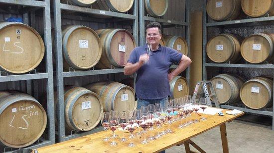 Leongatha, Australia: The Wine maker. Andrew Gromotka