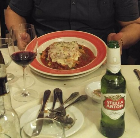 South Hackensack, نيو جيرسي: lasagna