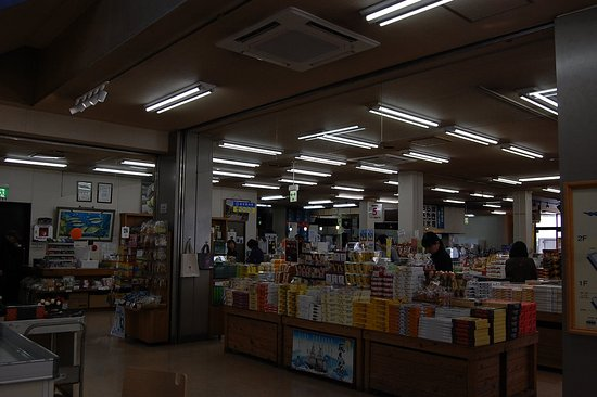 Kawauso Village Susaki Michi-no-Eki: お土産がいっぱい。
