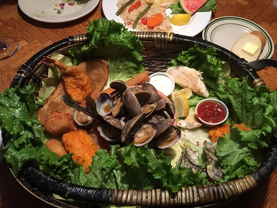 Pier 101: Three Combo platters to choose from