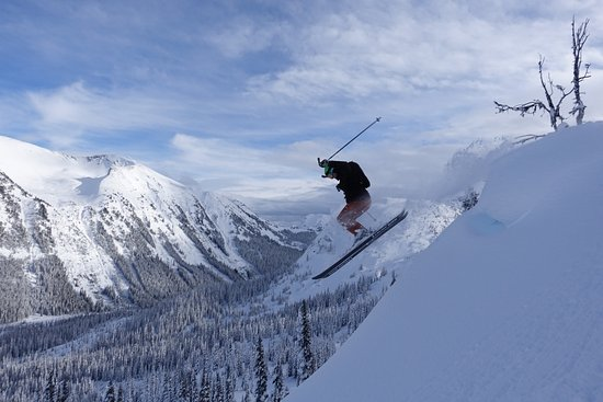 Pemberton, Canada: Getting some air