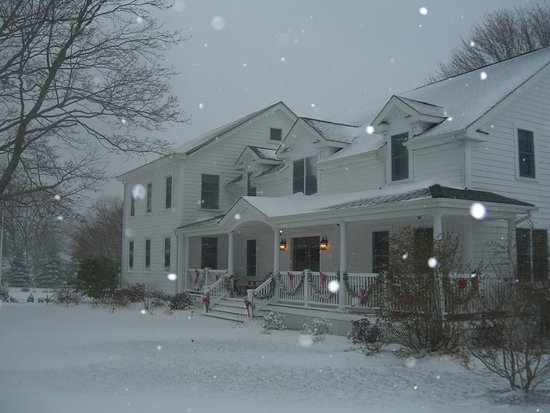 East Marion, NY: Winter at the Coffey House