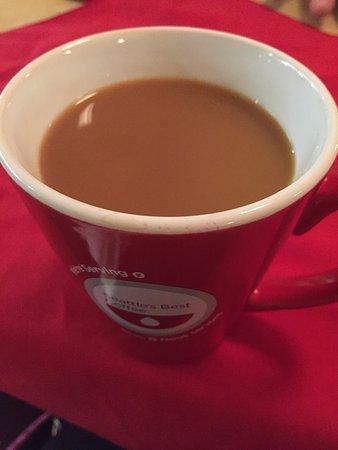 Coffee starts the day, AALTOS Garden Cafe, 2401 Saskatchewan Ave. W., Portage la Prairie, Manito