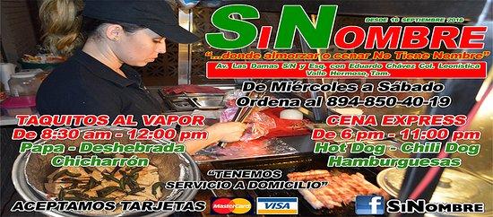 Los mejores Taquitos al Vapor y Cenas Express de Valle Hermoso