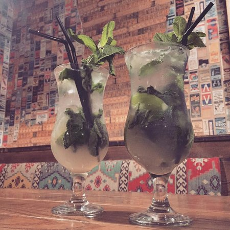 Greater Manchester, UK: mojito time!