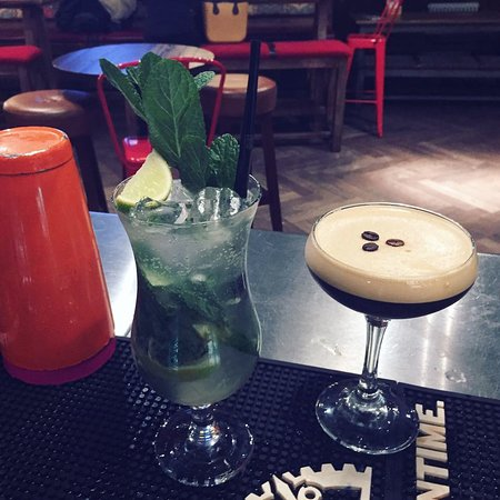 Greater Manchester, UK: mojitos are popular, as are espresso martinis