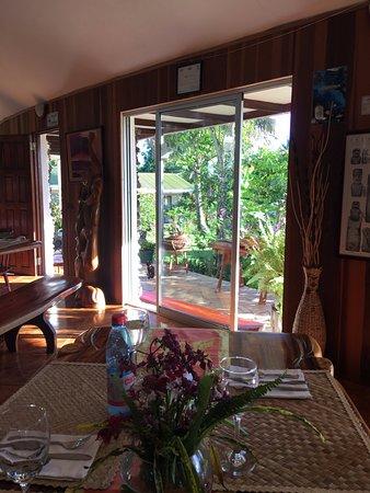 Chez Maria Goretti: Dining room