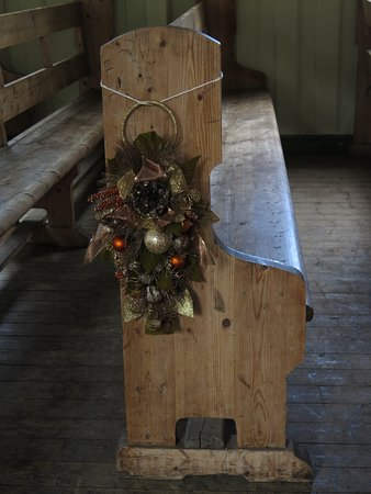 Grytviken: Weihnachtsdekoration