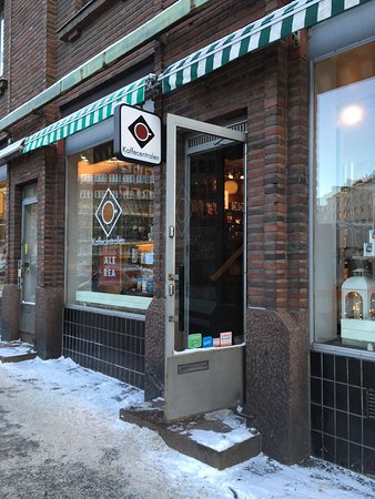 Kaffecentralen : 入り口
