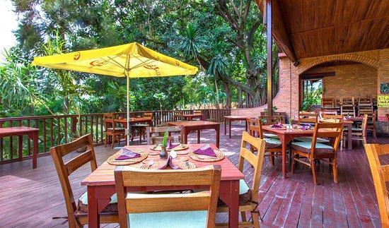Heaven Restaurant & Boutique Hotel: Heaven's terrace