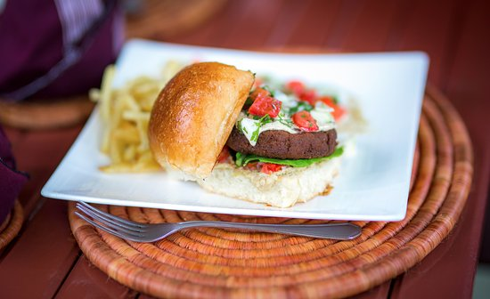 Heaven Restaurant & Boutique Hotel: Veggie Burger
