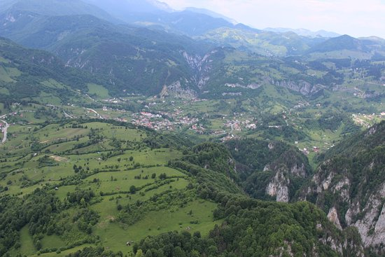 Transylvania Fly: Cross country magic views