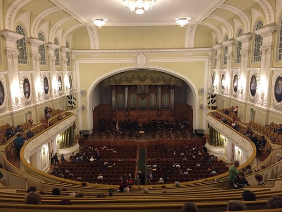 The Great Hall of Moscow Conservatory