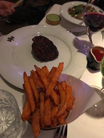 Grill Royal: Steak mit Süßkartoffeln