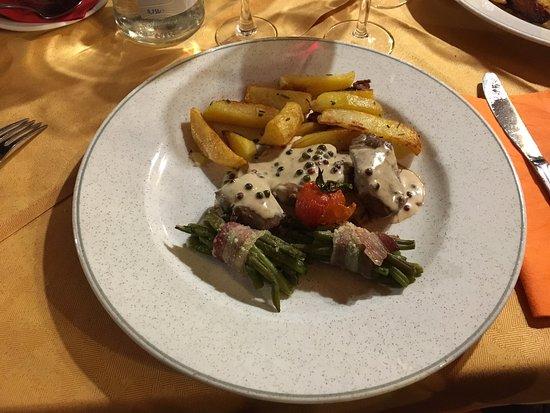 Maccagno, Ιταλία: Tris di filetti