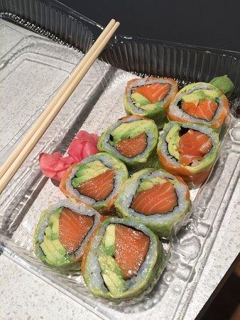Quick takeaway fresh sushi
