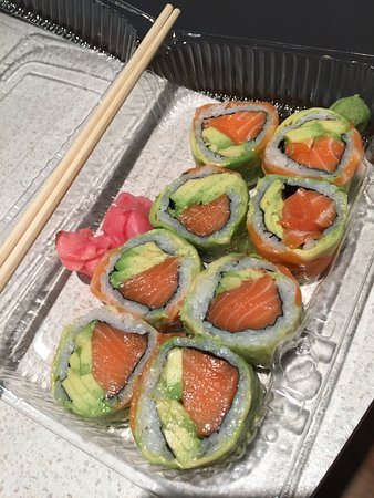Quick takeaway sushi