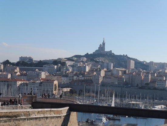 Notre dame de la garde vue du vieux port picture of basilique notre dame de la garde - Pharmacie de garde marseille vieux port ...