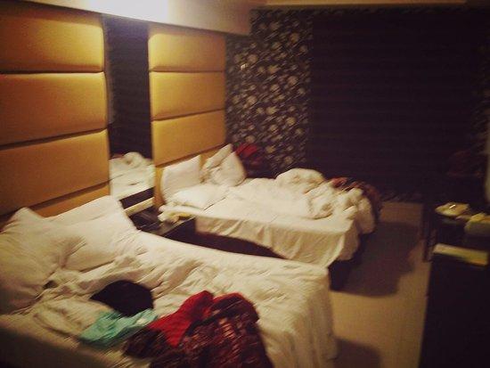 Hotel Krishna: Beds were ok