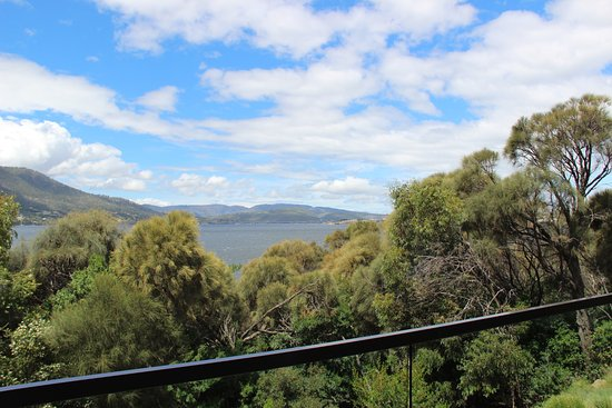 Mona Pavilions: View from Robin