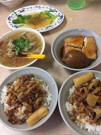 Best braised pork rice in Taipei