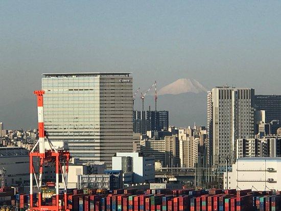 Hilton Tokyo Odaiba: 富士山が見えてます!