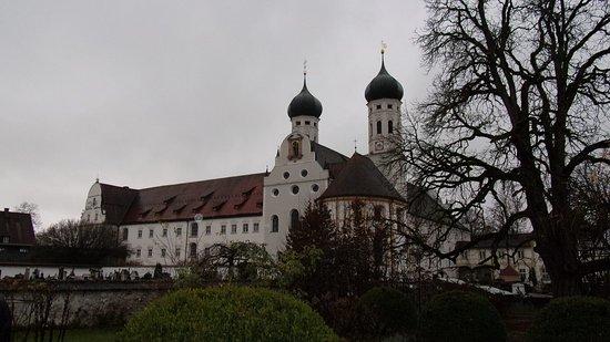 Benediktbeuern, Niemcy: Монастырь в Бенедиктбойерн Бавария