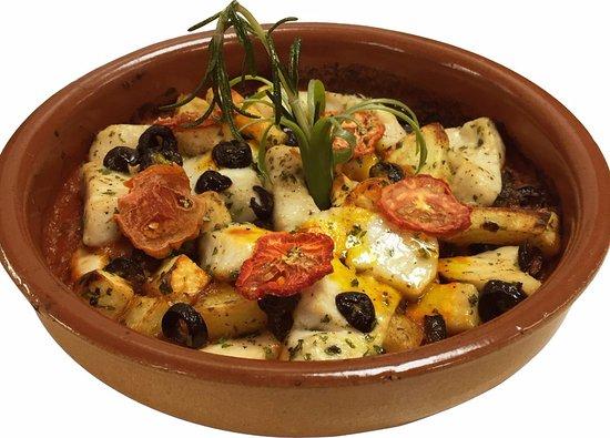 La Gondola: Pesce Spada Gratinato ( Sword Fish Oven baked)