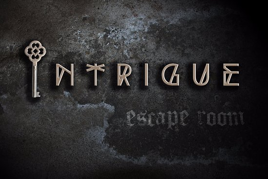 Intrigue Escape Room